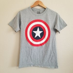 Marvel Grey Graphic T Shirt Small